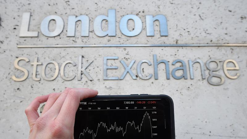 FTSE slips on global trade woes