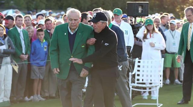 Gary Player on Arnie: 'We were friends for almost 60 years'