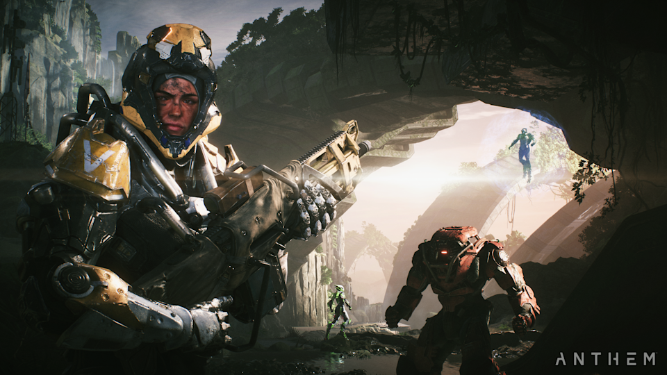 Put your fears aside, because 'Anthem' is way more than just a 'Destiny' clone.