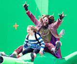 <p>Jason Momoa and costar Marlow Barkley film a scene for their upcoming Netflix film <em>Slumberland</em> on Tuesday in Toronto.</p>