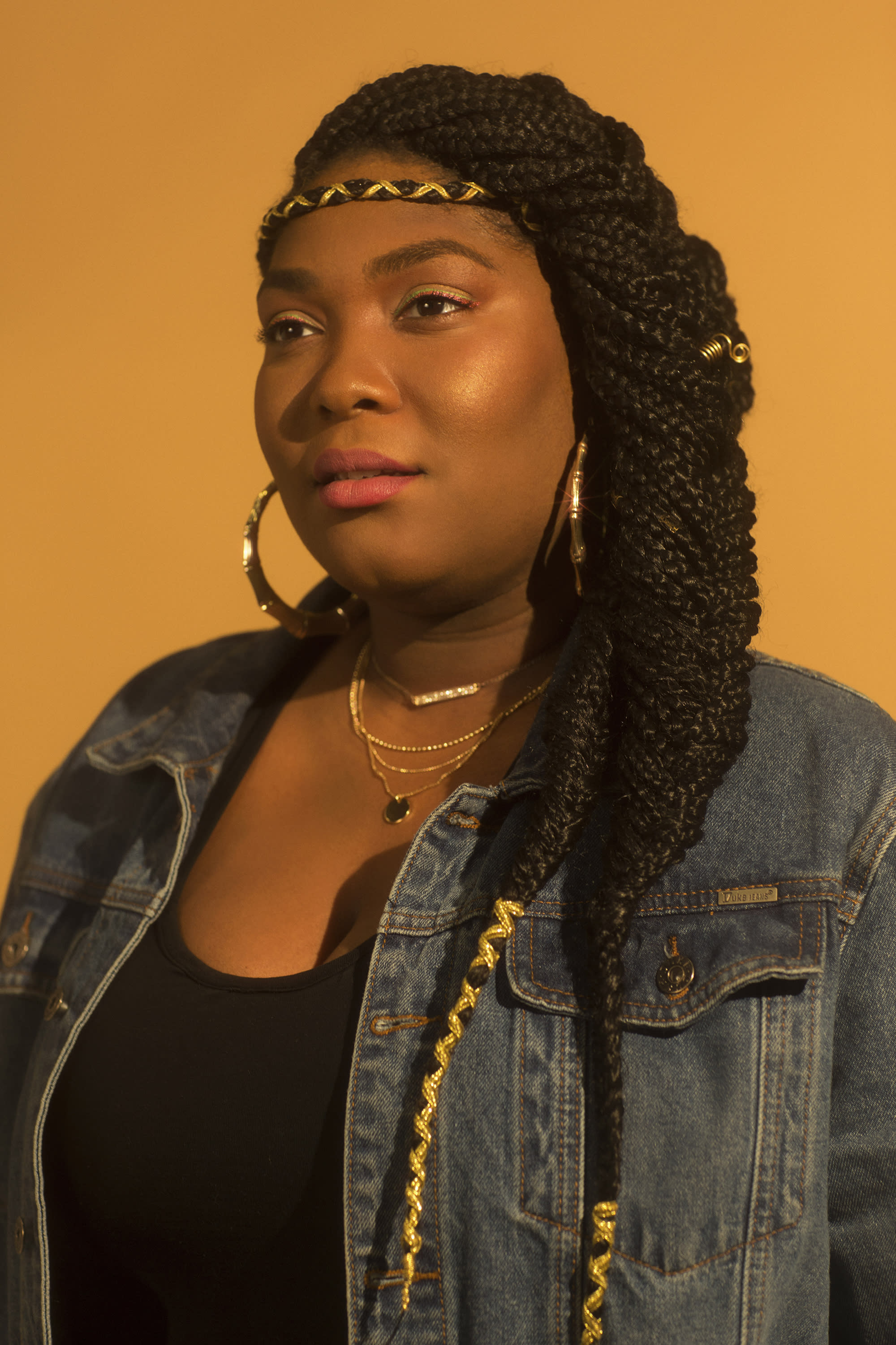 DJ Tiff McFierce embraces her natural hair, and she'll wear it however she chooses. (Photo: Natalia Mantini)