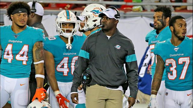 Flores says they will need more than confidence to beat a tough team like the Buffalo Bills