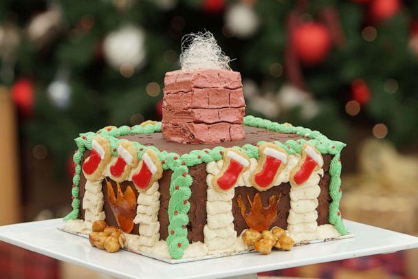 PHOTO: A cake made by a competitor on 'The Great American Baking Show: Holiday Edition.' (Mark Bourdillon/ABC)
