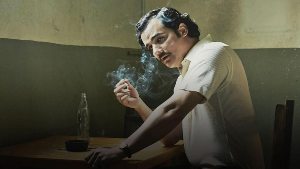 <p> Charting the rise and fall of drug kingpin Pablo Escobar, Narcos features two DEA agents, Murphy and Pena, trying at nothing in the war against drugs. But they&#x2019;ve met their match: Pablo is infinitely resourceful, Colombia is a country with dangerous people around every corner and it only gets worse from there. This is an American-Spanish show that will have you on the edge of your seats 99% of the time. The other 1% if you learning Spanish swear words, which is always fun. </p> <p> Even if you know Pablo Escobar&#x2019;s story, Narcos has been suitably embellished so every episode carries as many twist and turns as possible with it. That extends to its seasons, too. Each one does something different without straying too far from its main theme of &#x2018;catch the bad guy.&#x2019; Without wanting to go into spoiler territory, the show turns everything upside down far sooner than you might think, too. This is a binge-worthy drama that&#x2019;s an expert at keeping you on your toes. </p>
