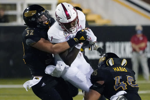 South Alabama tops Southern Miss for 1st road win since 2017