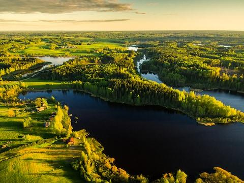 Latvia is covered in forest - Credit: getty