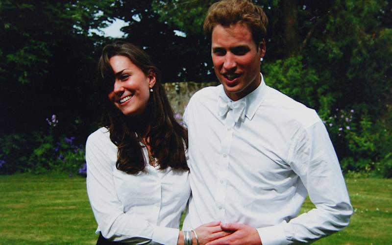 The Duke and Duchess of Cambridge famously met at St Andrews - Credit: Middleton Family