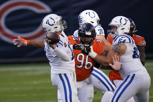 Colts rule out Castonzo, Leonard for showdown in Cleveland