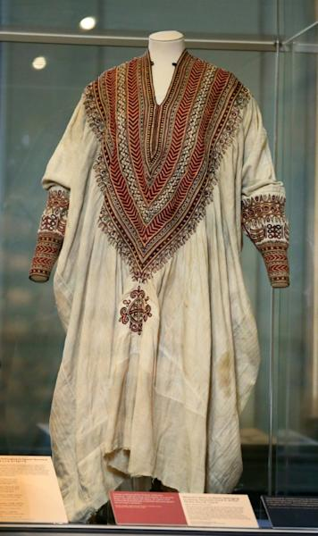 Ethiopian officials have demanded Britain give back treasures seized by Britain in 1868, such as the wedding dress of Queen Terunesh