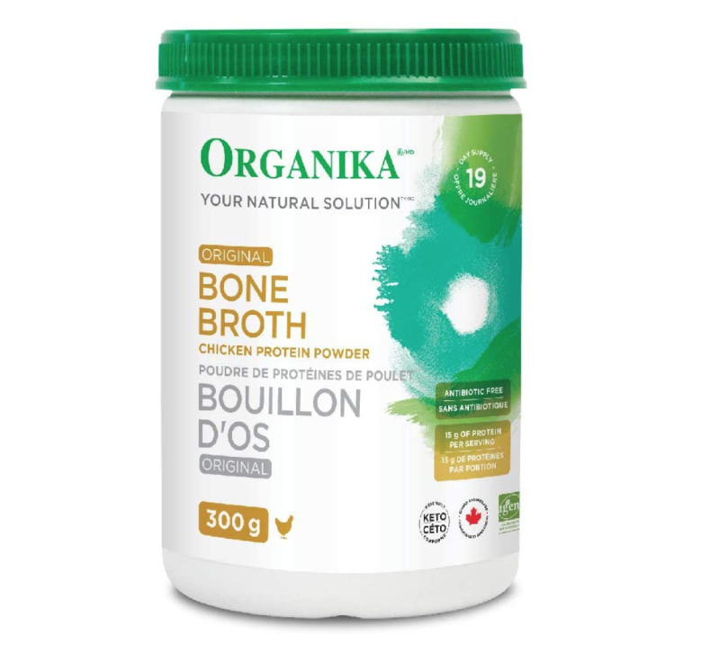 Organika Bone Broth Chicken. Image via Amazon.