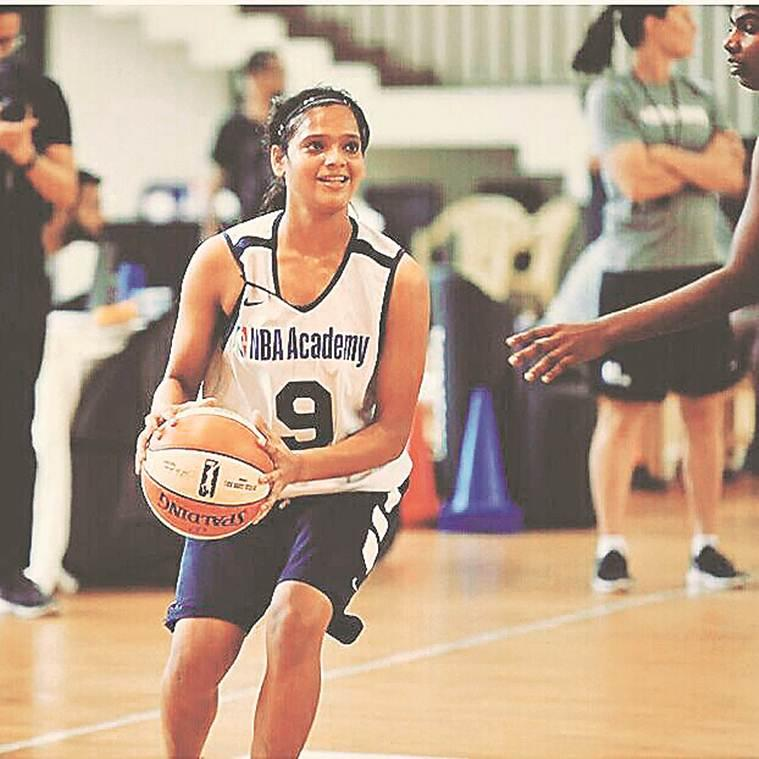 NBA Academy, five young indian women, USA basketball, Women's National Basketball Association, indian express news