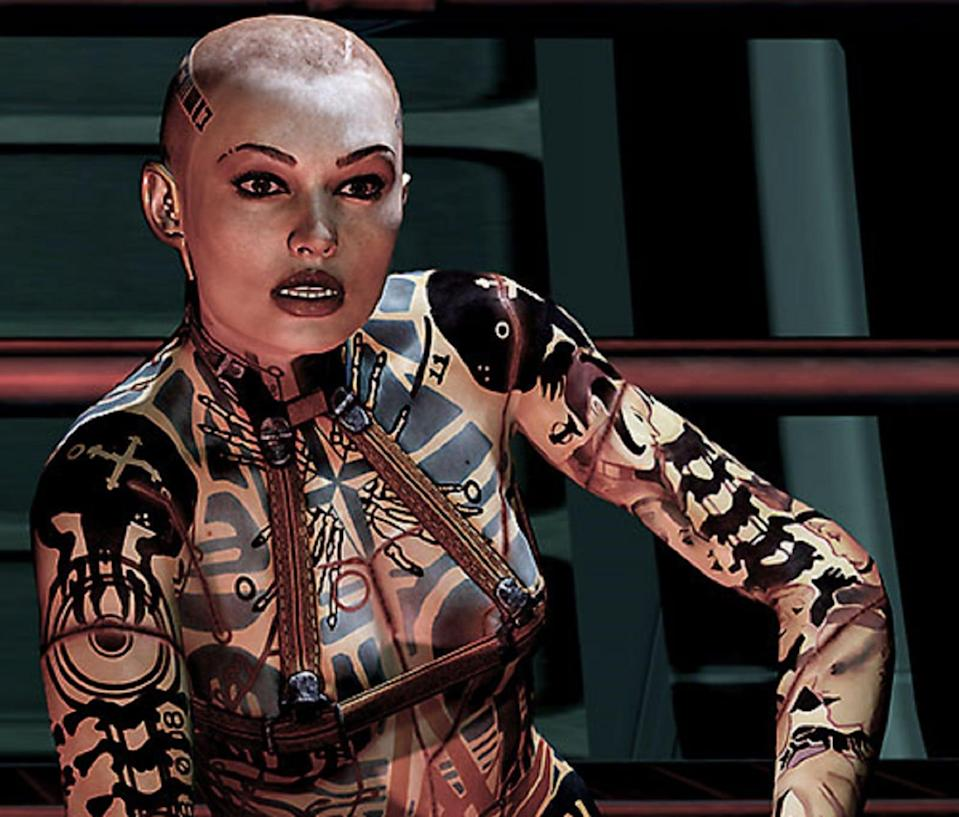 Mass Effect: A character introduced in 2010's Mass Effect 2, the female biotic Jack, was intended to be pansexual