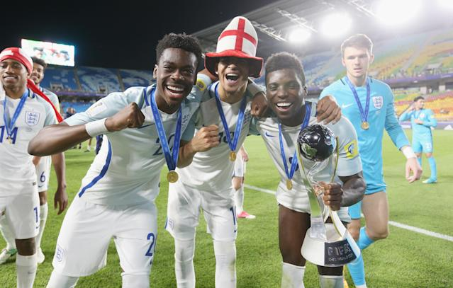 The kids are alright: England enjoyed under 20 and under 17 World Cup glory