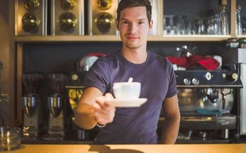 Thou shalt head confidently for the bar, call out thine order even if the barista has his back to you, and pay afterwards at the till. - Credit: clownbusiness - Fotolia