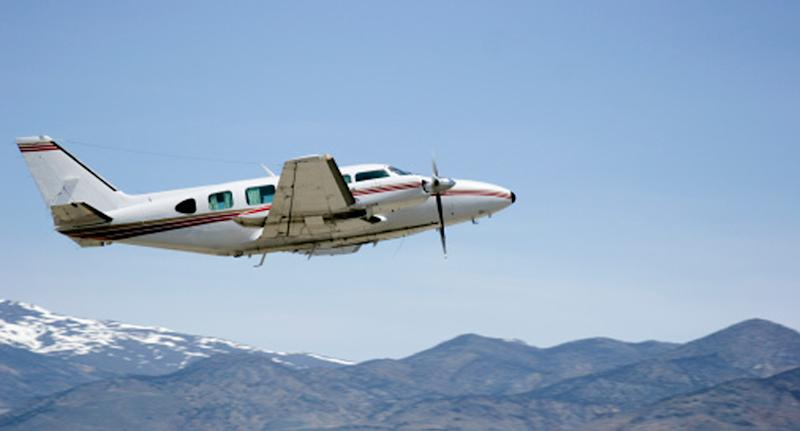 The pilot was flying a PA-31-350 aircraft (same model pictured) from Devonport Airport to King Island Airport in Tasmania