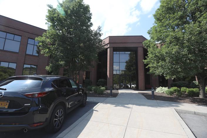 GateHouse Media headquarters is located on the third floor of this office building at 175 Sully's Trail, Perinton, NY Aug. 5, 2019.