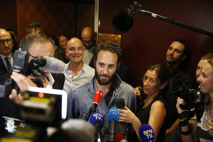 French photographer Mathias Depardon was detained by Turkish authorities in May while working on a report on Hasankeyf for National Geographic magazine, and held for a month (AFP Photo/GEOFFROY VAN DER HASSELT)