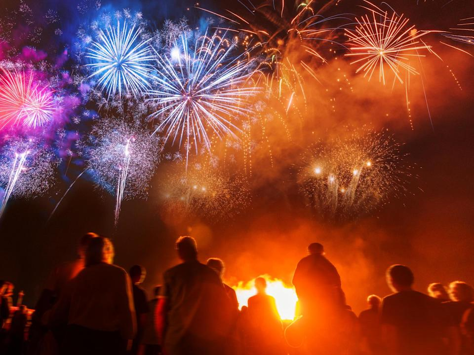 The petition calls for fireworks to be restricted to organised displays for the public: iStock