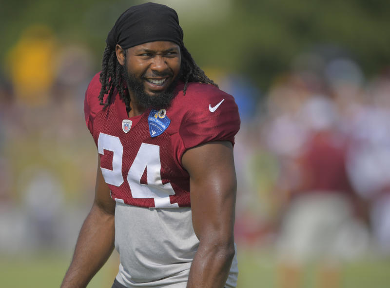 Josh Norman (pictured) and Demario Davis helped post bail for an undocumented immigrant detained by ICE. (Getty)