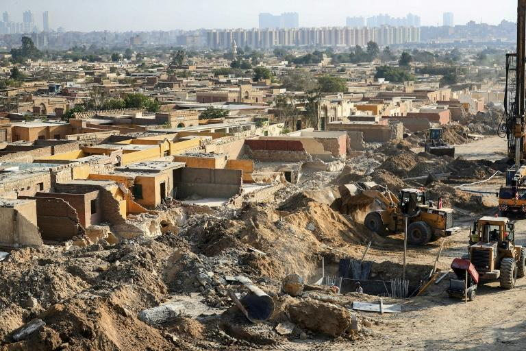 Egypt highway uproots graves, homes in 'City of Dead'