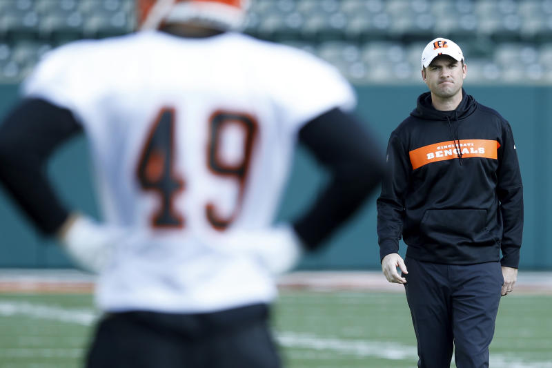 Zac Taylor replaces Marvin Lewis as Bengals head coach. (Getty Images)