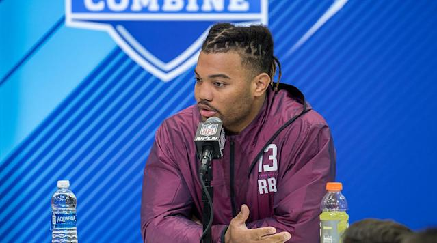 Former LSU RB Derrius Guice Falls to Redskins at No. 59 Amid Reports of Off-Field Concerns