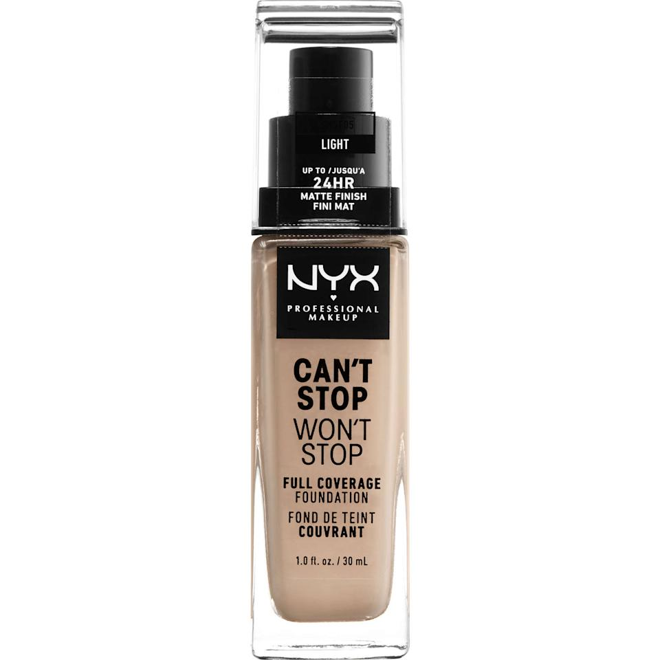 NYX Can't Stop Won't Stop Full Coverage Matte Foundation