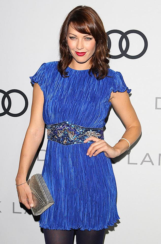 LOS ANGELES, CA - SEPTEMBER 16: Louise Griffiths attends the Audi And Derek Lam Kick Off Emmy Week 2012 Cocktail Party at Cecconi's Restaurant on September 16, 2012 in Los Angeles, California. (Photo by JB Lacroix/WireImage)