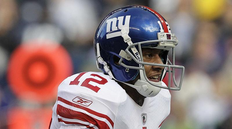 Steve Smith, the one who had one big season with the Giants, was surprisingly nominated for the Hall of Fame. (AP)