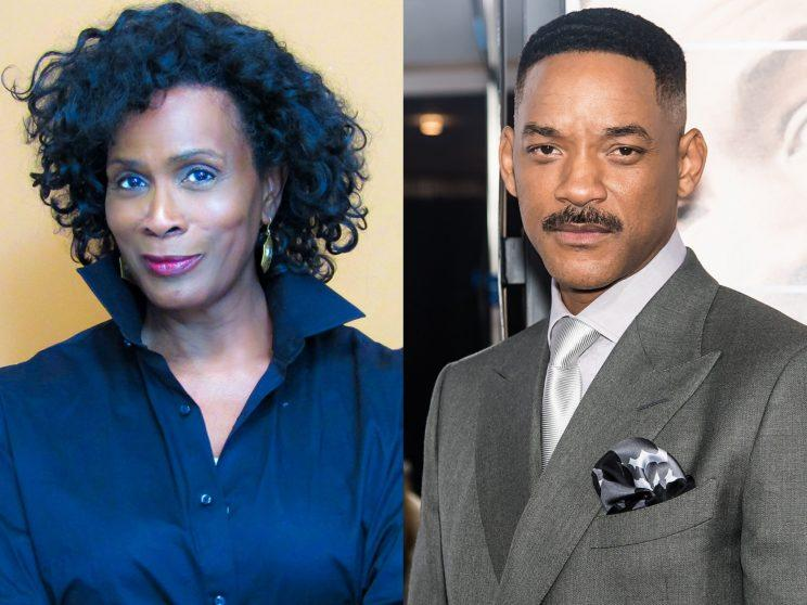 "Time heals all wounds … except the rift between Janet Hubert and her ""Fresh Prince"" co-stars, including Will Smith. (Photo: Facebook/Getty Images)"