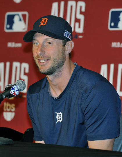 Max Scherzer will be looking for major money. (USA TODAY Sports)