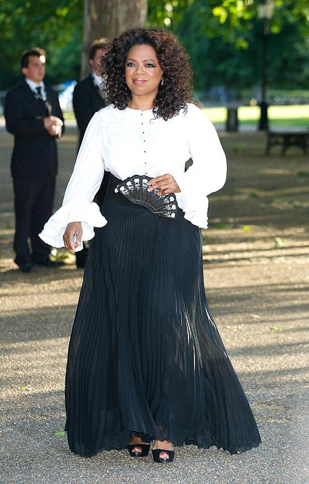 "Jerry Seinfeld's puffy pirate shirt lives to see another day thanks to talk show titan Oprah Winfrey. Shiver me timbers! Mike Marsland/<a href=""http://www.wireimage.com"" target=""new"">WireImage.com</a> - June 25, 2008"