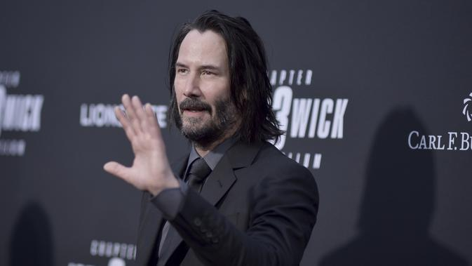 Keanu Reeves. (Photo by Richard Shotwell/Invision/AP)