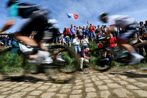 The cobbled sections of the Paris-Roubaix are always treacherous