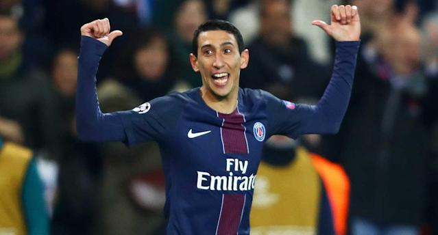 Di Maria was the man for PSG. (Getty Images)