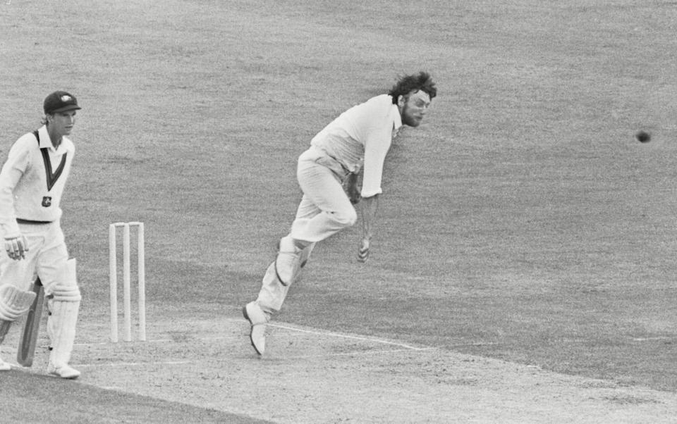 Helping England to a six-wicket victory against Australia at Lord's in the 1979 World Cup - Shutterstock