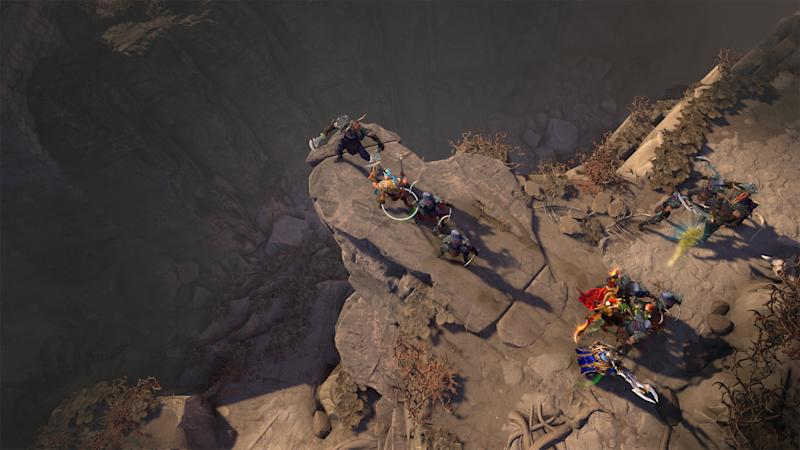 A co-op campaign is coming to the furiously competitive Dota 2 (Valve)