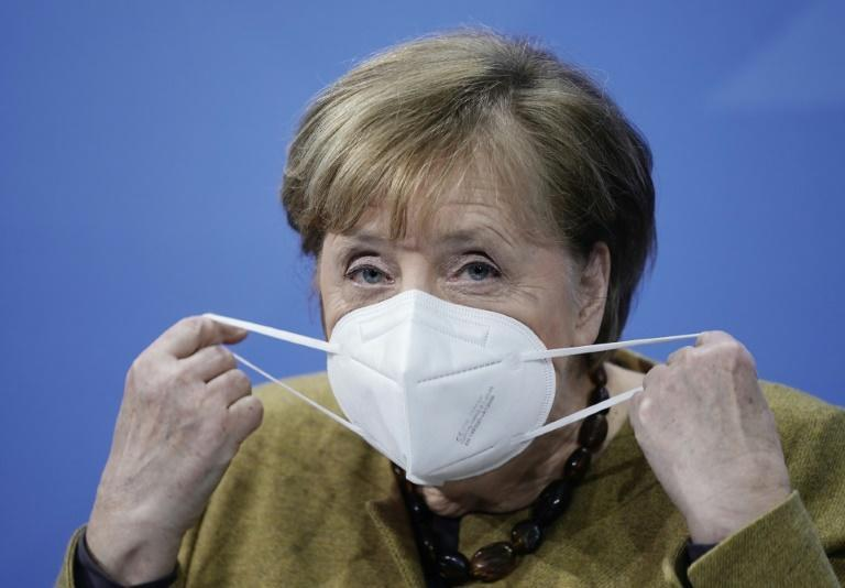 German Chancellor Angela Merkel said the heightened measures were 'absolutely necessary'