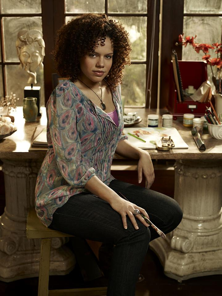 "Genelle Williams stars as Leena in ""Warehouse 13."""
