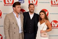 LONDON, ENGLAND - SEPTEMBER 10: (L-R) Jack Fincham, Danny Dyer and Dani Dyer attend the TV Choice Awards at The Dorchester on September 10, 2018 in London, England. (Photo by Dave J Hogan/Dave J Hogan/Getty Images)