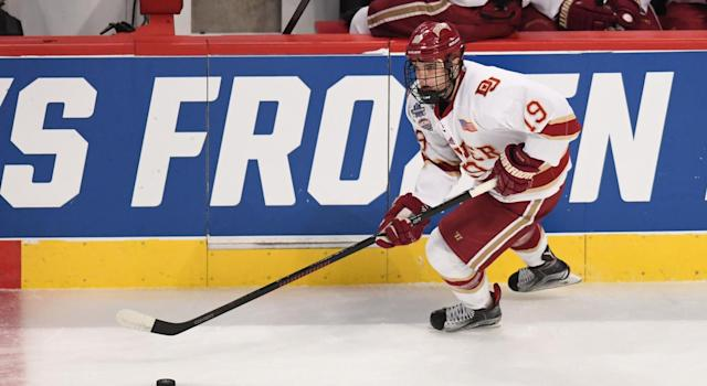 "Troy Terry's <a class=""link rapid-noclick-resp"" href=""/ncaab/teams/dak/"" data-ylk=""slk:Denver Pioneers"">Denver Pioneers</a> have unsurprisingly emerged as front runners early in the Division I season. (Getty)"