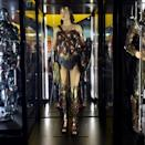 <p>Gal Gadot's Amazon warrior costume appears largely unchanged. (Photo: Marcus Errico/Yahoo Movies) </p>