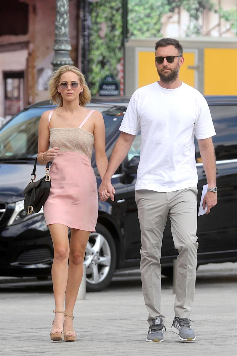 Jennifer Lawrence engaged: Who is her fiancé Cooke Maroney?
