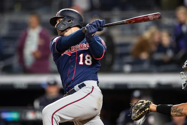 "<a class=""link rapid-noclick-resp"" href=""/mlb/players/10789/"" data-ylk=""slk:Mitch Garver"">Mitch Garver</a> will be an attractive target in drafts this season. (Photo by Brace Hemmelgarn/Minnesota Twins/Getty Images)"