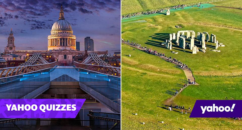 Quiz! How well do you know Britain's biggest tourist attractions?