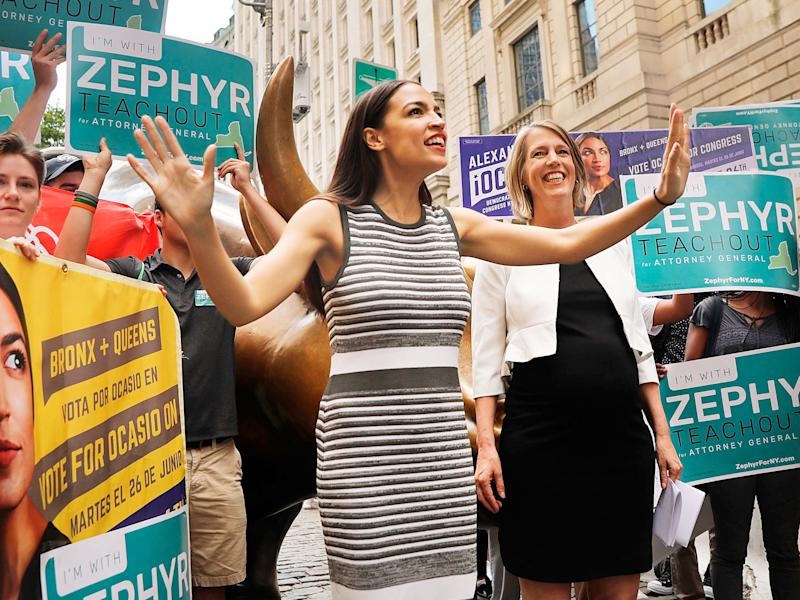 Journalist criticised for 'sexist' Ocasio-Cortez tweet