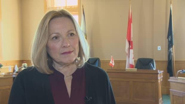 New Glasgow Mayor Nancy Dicks is facing a charge of assault in relation to an incident on Sept. 27, 2020. (Robert Guertin/CBC - image credit)