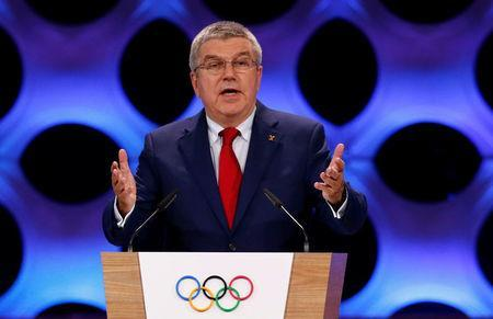 International Olympic Committee (IOC) President Thomas Bach attends the 131st IOC session in Lima, Peru September 13, 2017. REUTERS/Mariana Bazo