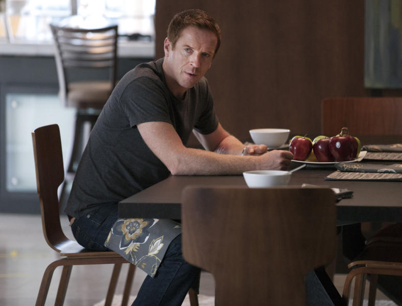"Damian Lewis as Nicholas ""Nick"" Brody in the ""Homeland"" Season 2 episode, ""The Motherf----- with a Turban."""