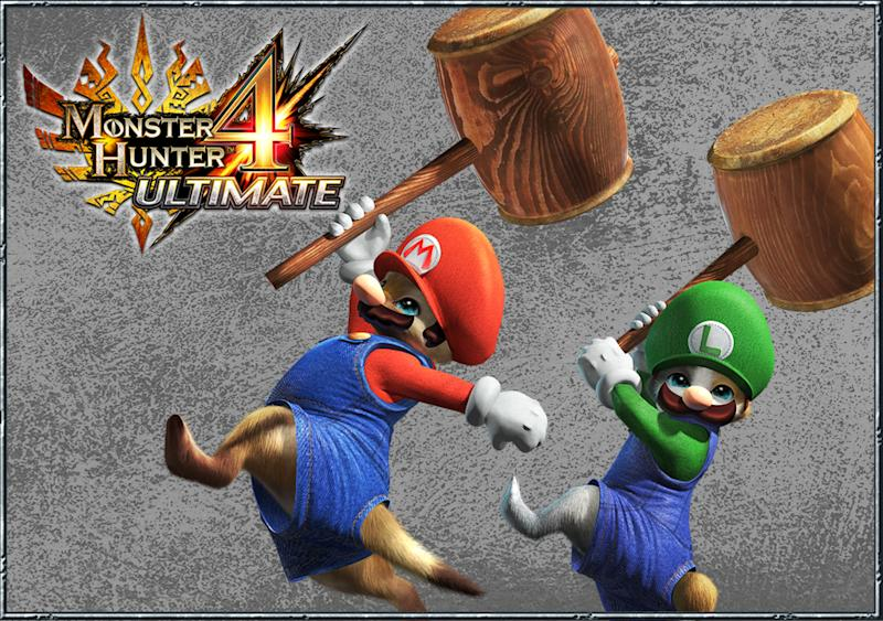 Here's How to Get Mario Costumes in Monster Hunter 4 Ultimate